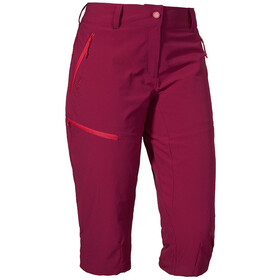 Schöffel Caracas2 3/4 Pants Women beet red